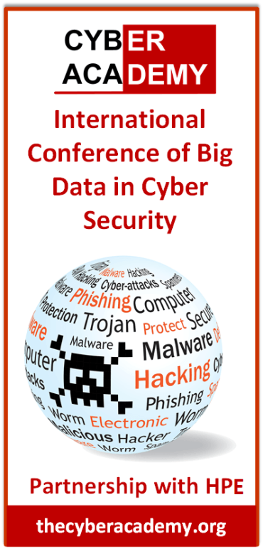 Presenting at The International Big Data Conference in Cybersecurity